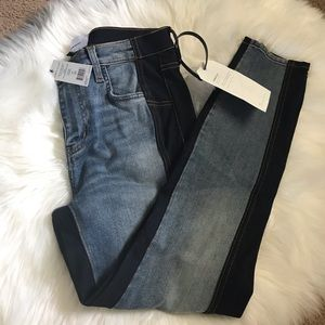 Rare Current/Elliott Skinny Jeans